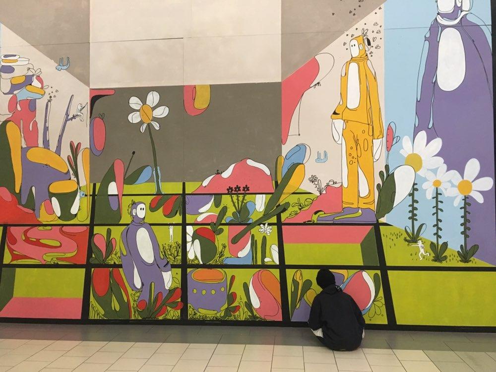 Image of Travis Cuellar Mural