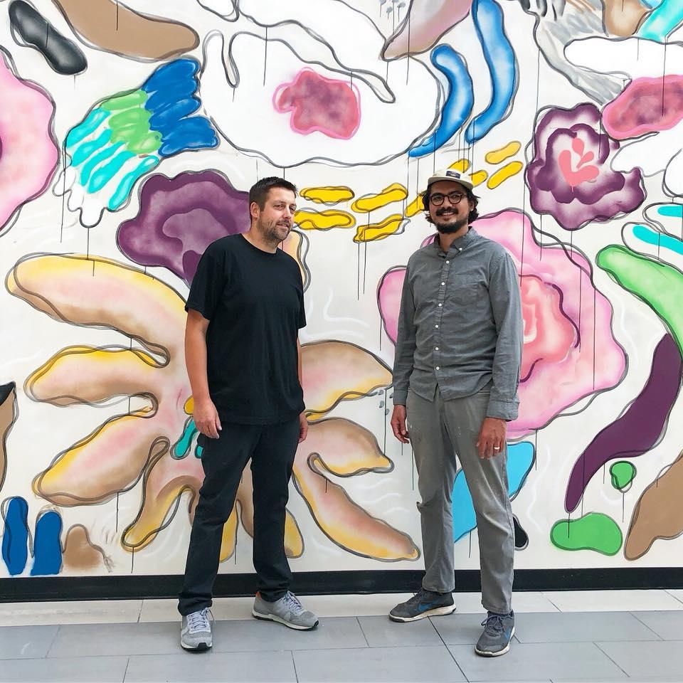Image of Artist Tyson and Jeremy