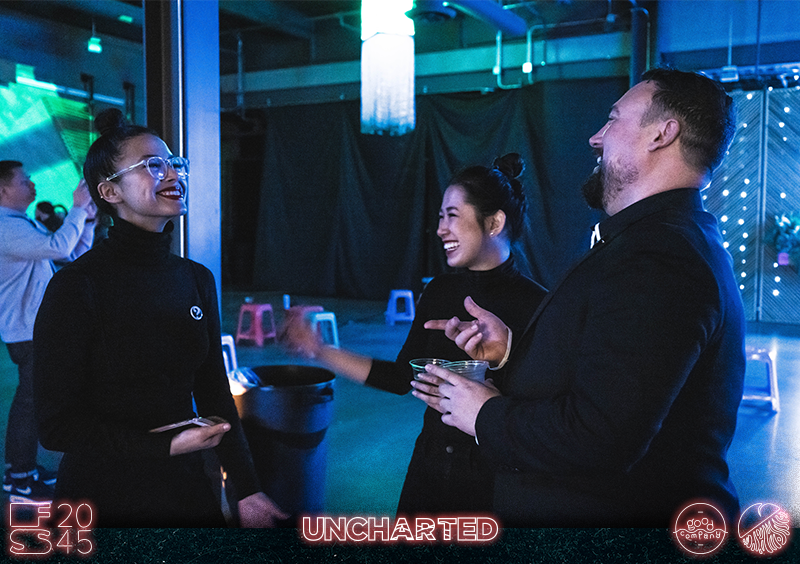 FuturScape 2045 Event Image - People Laughing