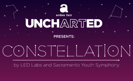 Image of Flyer for Uncharted presents constellation by LED Labs and Sacramento Youth Symphony